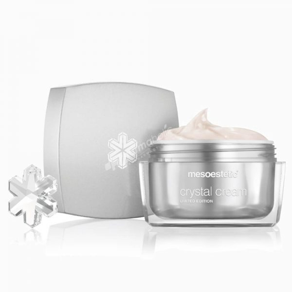 MESOESTETIC Crystal Cream rozświetlający krem o działaniu anti-aging z zawieszką Swarovski 50ml