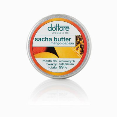 DOTTORE Sacha Butter Mango-Papaya masło do twarzy i ciała 50ml