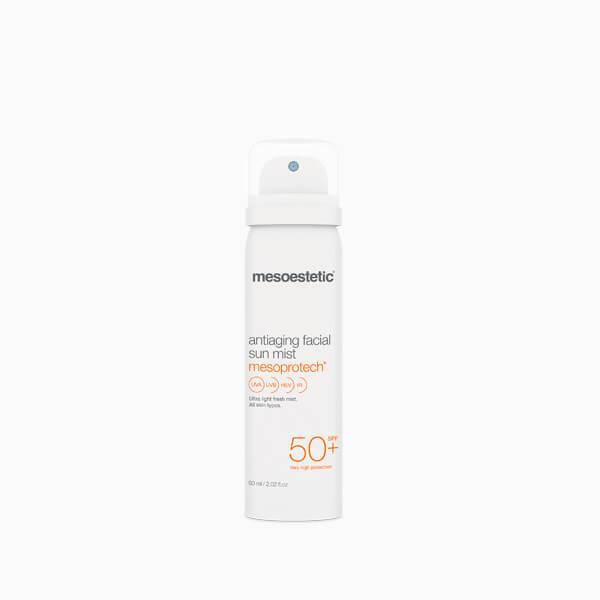 MESOESTETIC Mesoprotech Antiaging Facial Mist mgiełka do twarzy z ochroną przeciwsłoneczną SPF50 50ml