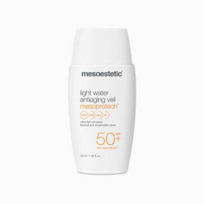 MESOESTETIC Mesoprotech Light Water Antiaging Veil lekki krem o działaniu anti-aging z ochroną przeciwsłoneczną SPF50+ 50ml