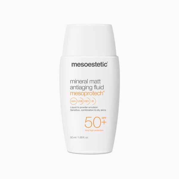 MESOESTETIC Mesoprotech Mineral Matt Anti-aging Fluid krem matujący z ochroną przeciwsłoneczną SPF50+ 50ml