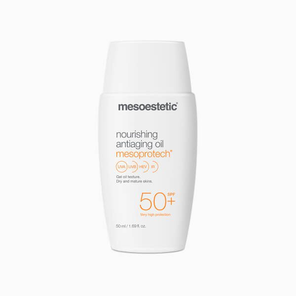 MESOESTETIC Mesoprotech Nourishing Antiaging Oil odżywczy olejek o działaniu anti-aging z wysoką ochroną przeciwsłoneczną SPF50+ 50ml