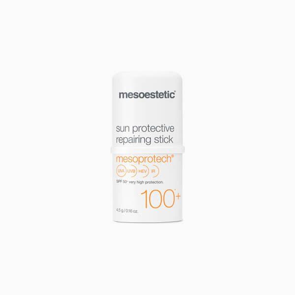 MESOESTETIC Mesoprotech Repairing stick SPF100+ sztyft punktowy z wysoką ochroną przeciwsłoneczną 4,5g