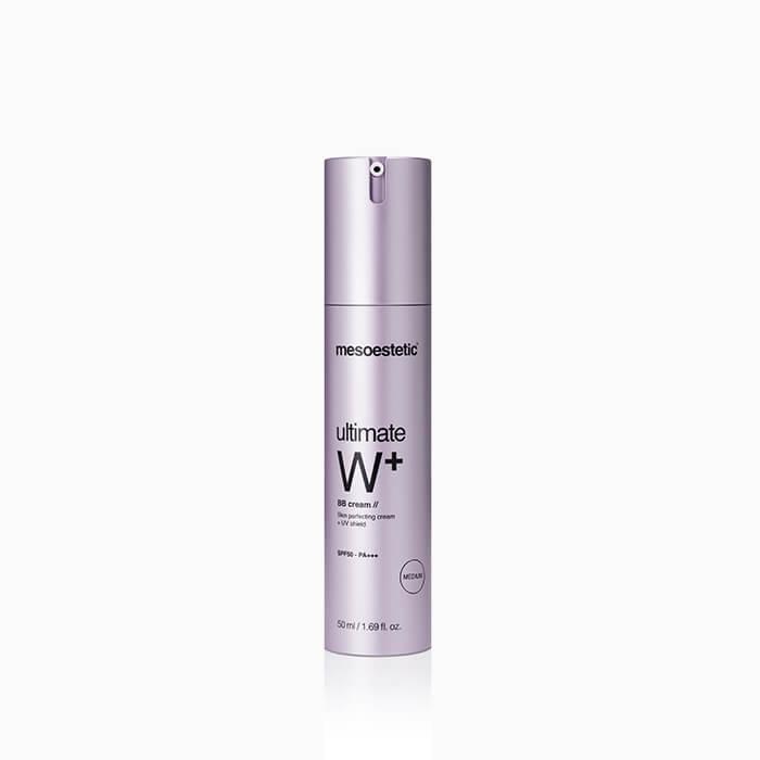 MESOESTETIC Ultimate W+ Whitening Cream BB Medium krem koloryzujący BB 50ml