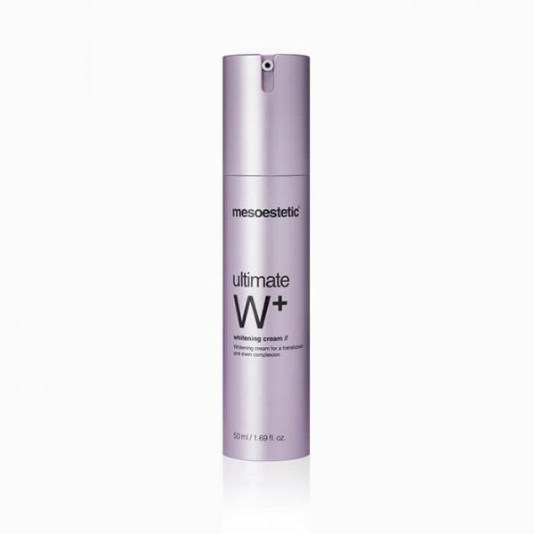 MESOESTETIC Ultimate W+ Whitening Cream krem rozjaśniający przebarwienia 50ml
