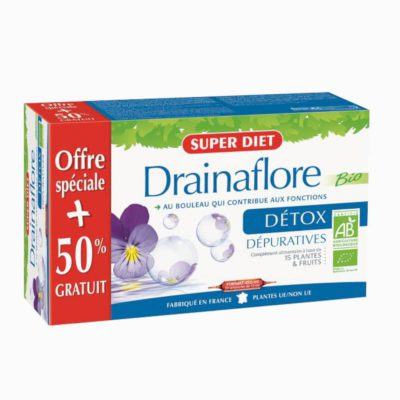Super Diet Drainaflore Detox 30 x 15ml