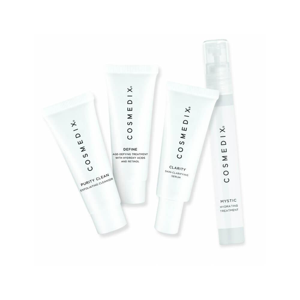 COSMEDIX Combination Skin 4-Piece Essentials Kit zestaw pielęgnacyjny do skóry mieszanej 4 x 15ml