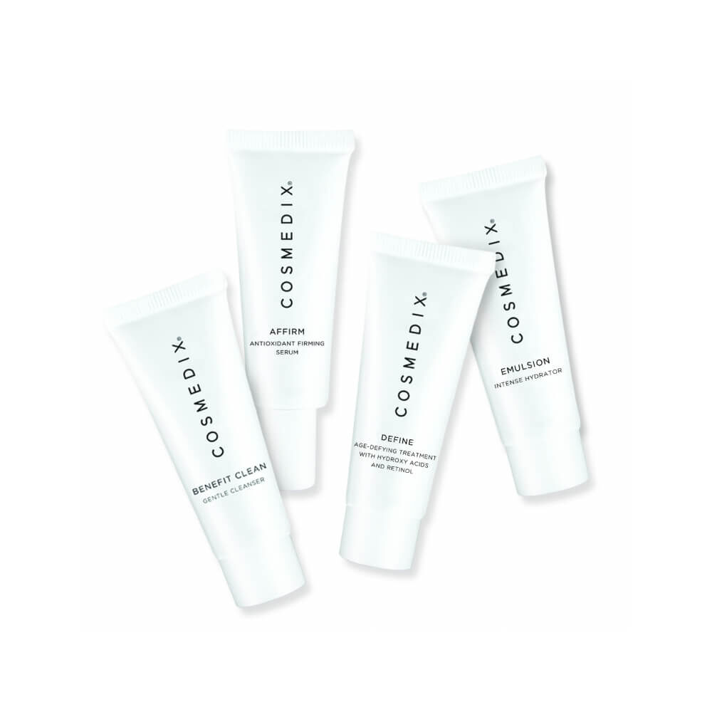COSMEDIX Normal Skin 4-Piece Essentials Kit zestaw pielęgnacyjny do skóry normalnej 4 x 15ml