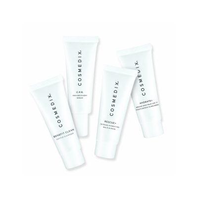 COSMEDIX Sensitive Skin 4-Piece Essentials Kit zestaw pielęgnacyjny do skóry wrażliwej 4 x 15ml