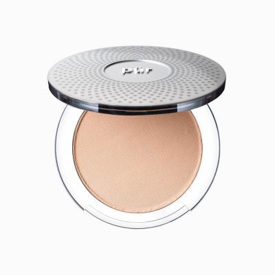 PUR 4-in-1 Presses Mineral Makeup Foundation SPF15 prasowany puder mineralny 4 w 1 GOLDEN MEDIUM