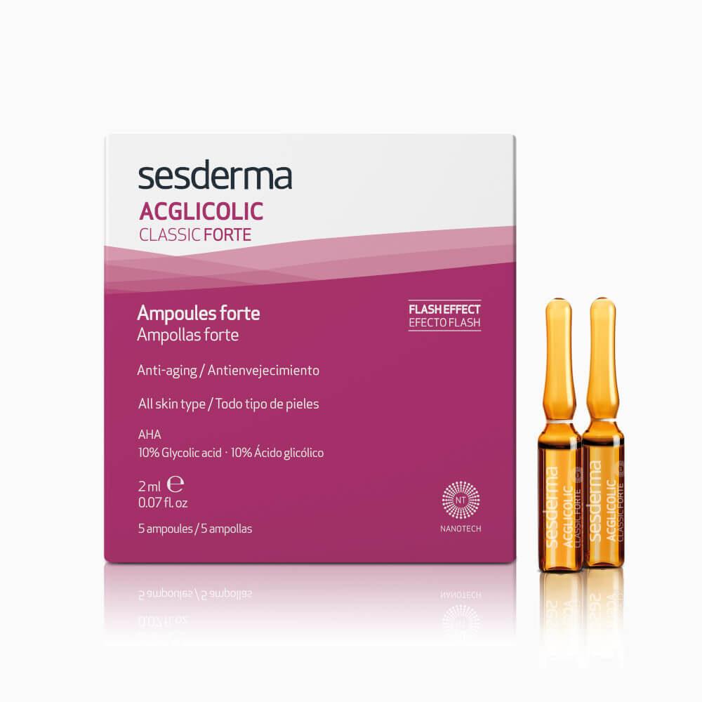 SESDERMA Acglicolic Classic Forte ampułki przeciwstarzeniowe 5 x 2ml
