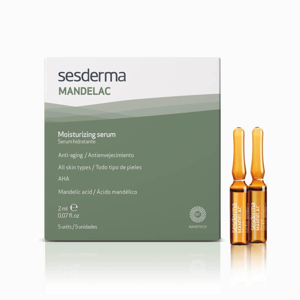 SESDERMA Mandelac serum nawilżająco – przeciwstarzeniowe w ampułkach 5 x 2ml