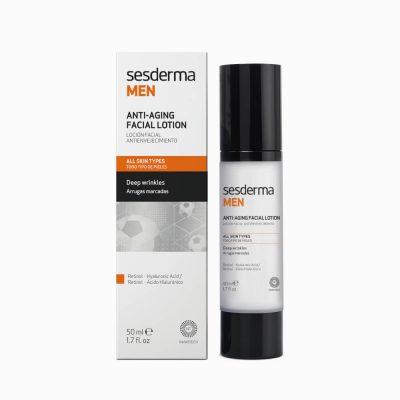 SESDERMA Men Anti-Aging Facial Lotion krem przeciwzmarszczkowy do twarzy 50ml