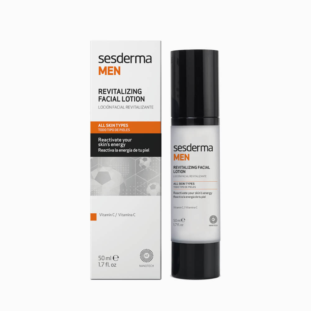 SESDERMA Men Revitalizing Facial Lotion emulsja rewitalizująca do twarzy 50ml