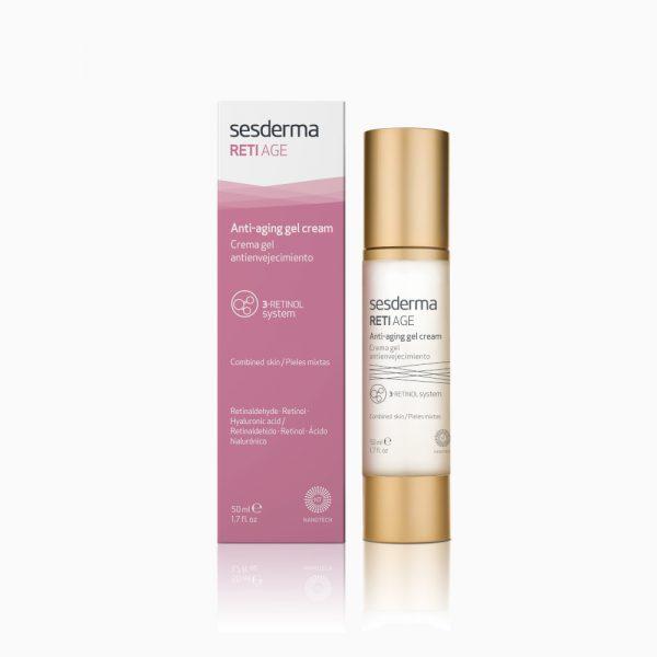 SESDERMA Reti Age Anti-Aging Gel Cream krem – żel przeciwstarzeniowy 50ml