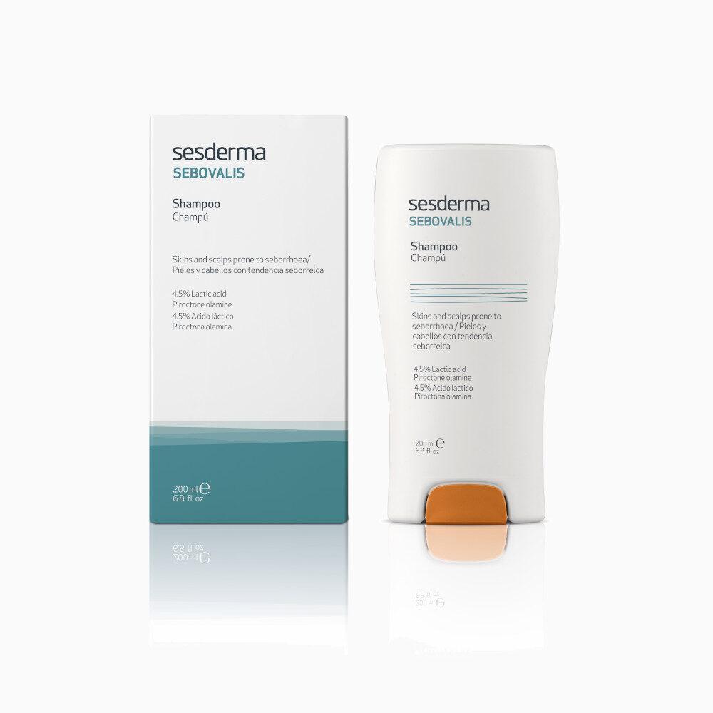 SESDERMA Sebovalis Shampoo szampon leczniczy 200ml