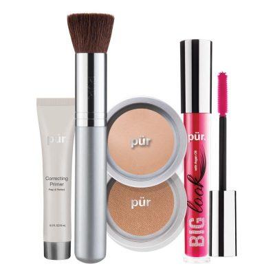 PUR Start Now 5-Piece Beauty-To-Go Collection Kit zestaw do makijażu BLUSH MEDIUM
