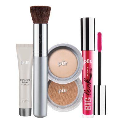 PUR Start Now 5-Piece Beauty-To-Go Collection Kit zestaw do makijażu LIGHT