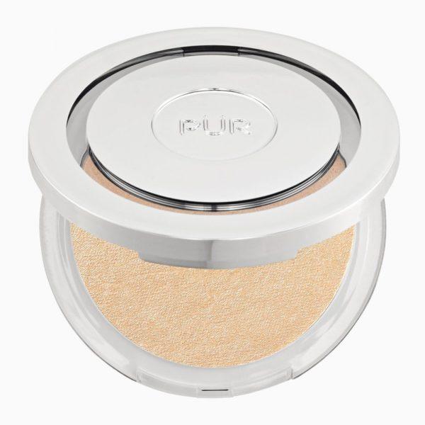 PÜR Afterglow Highlighting Skin Perfecting Powder puder rozświetlający 8g