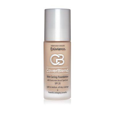 EXUVIANCE CoverBlend Skin Caring Foundation SPF20 podkład korygujący niedoskonałości 30ml