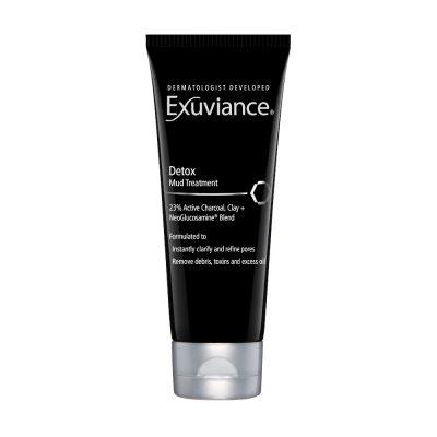 EXUVIANCE Detox Mud Treatment detoksykująco - botaniczna kuracja do skóry problematycznej z węglem aktywnym 100ml