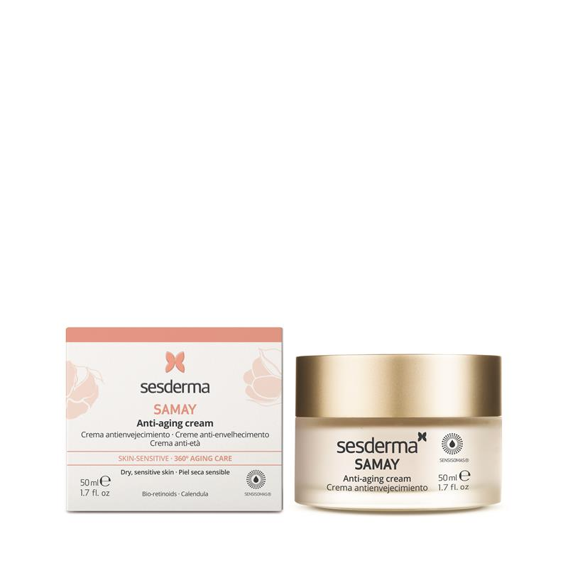 SESDERMA Samay Anti – Aging Cream przeciwzmarszczkowy krem dla skóry wrażliwej 50ml