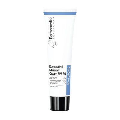 DERMOMEDICA Resveratrol Mineral Cream SPF 30 przeciwzmarszczkowy krem z resweratrolem 60ml