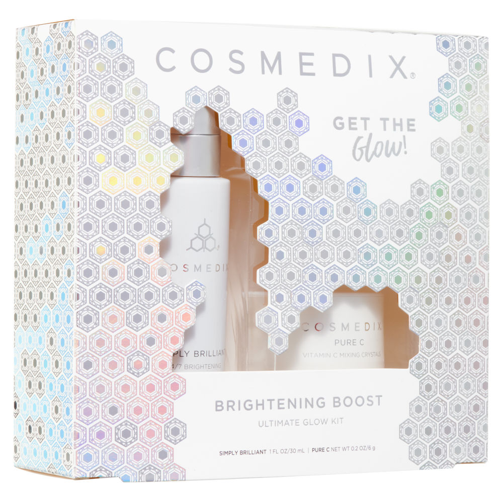 COSMEDIX brightening boost kit