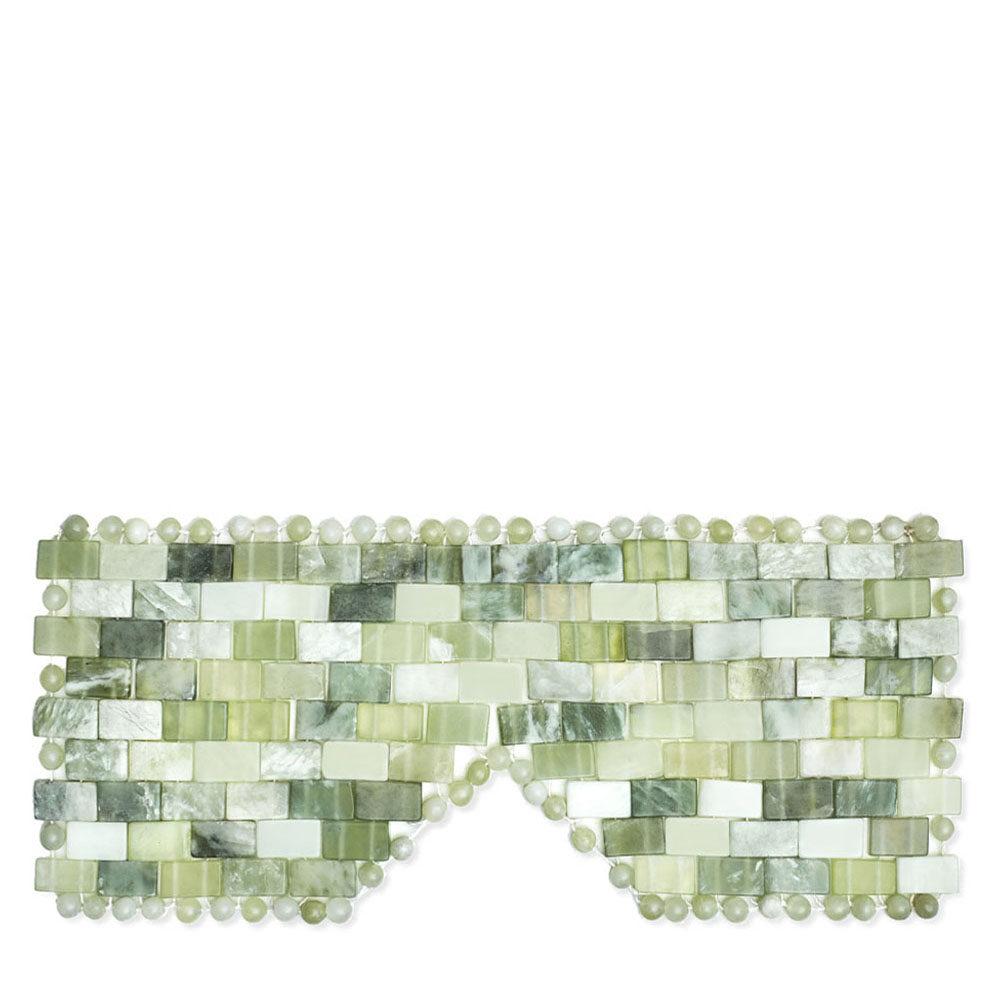 maska na oczy z jadeitu