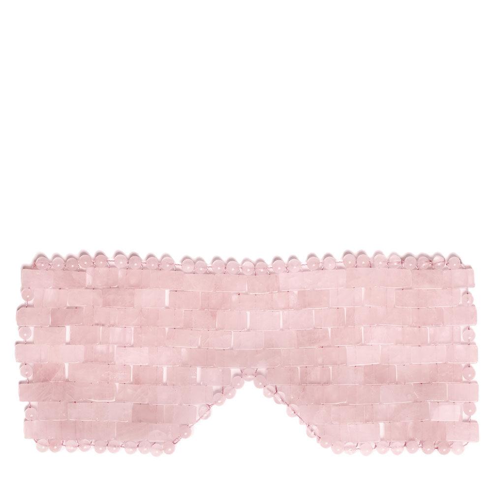 maska na oczy z kwarcu różowego