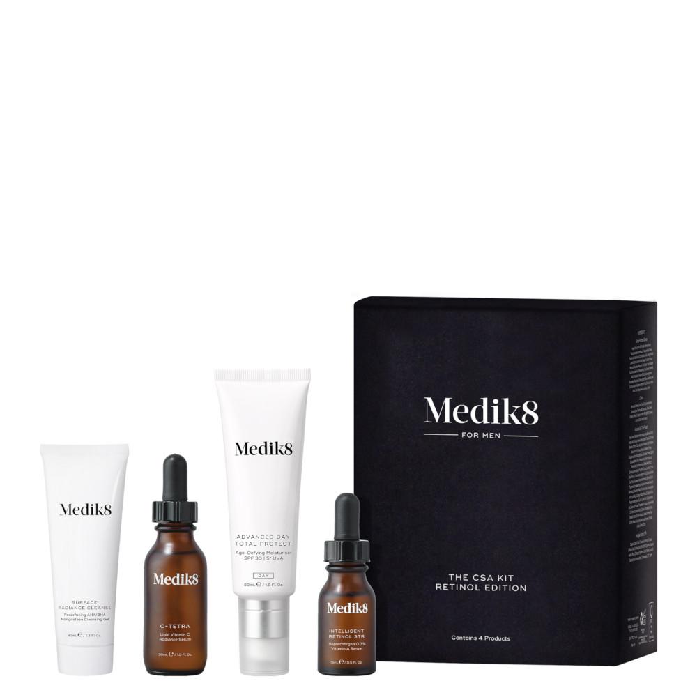 Medik8 For Men CSA Kit Retinol Edition