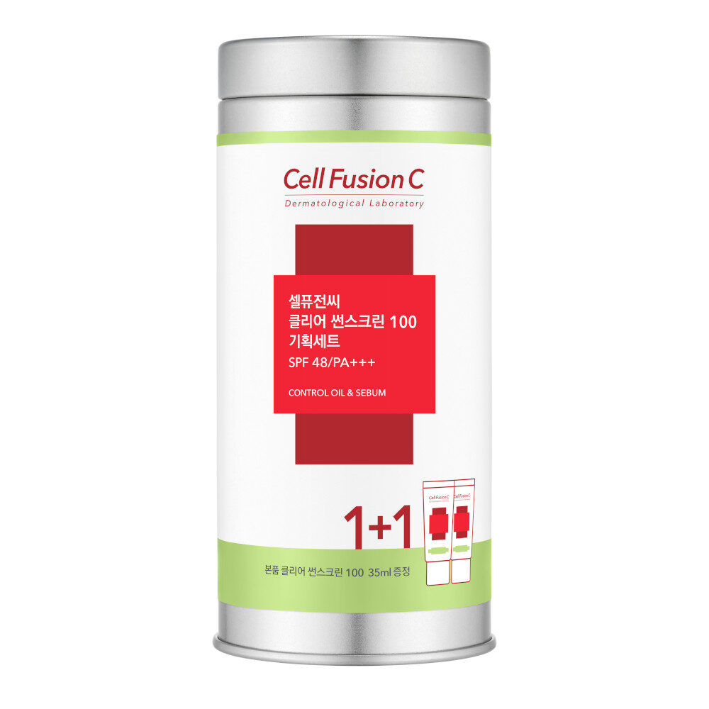 cell fusion c clear sunscreen 100